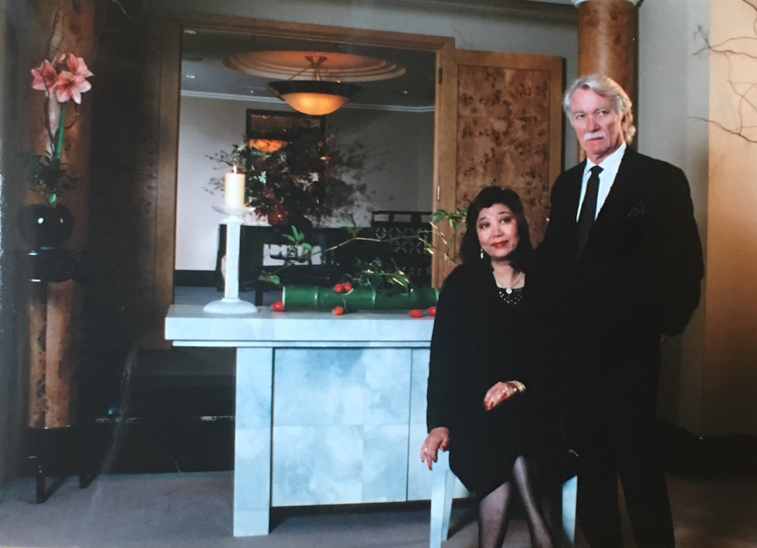 Midori And Karl In Tokyo At The Opening Of Springer Named Dining Table