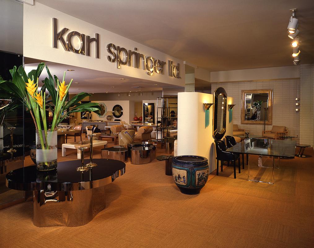 Karl Springer Collectable Vintage Clic Mid Century Furniture